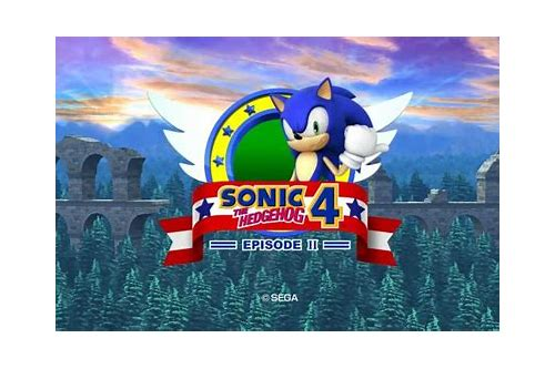 sonic the hedgehog 4 game download