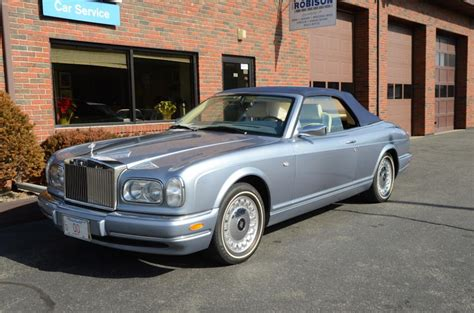 2002 rolls royce corniche 2002 rolls royce corniche information and photos