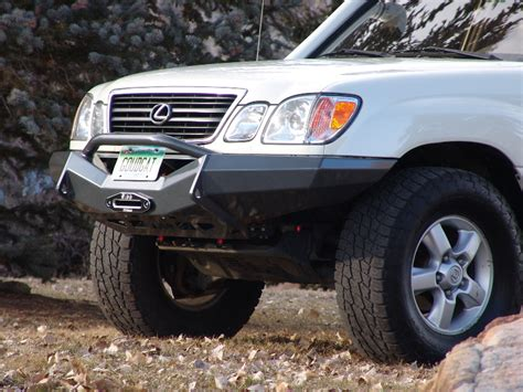 slee offroad lx470 100 series front bumper pirate4x4 4x4 and off road