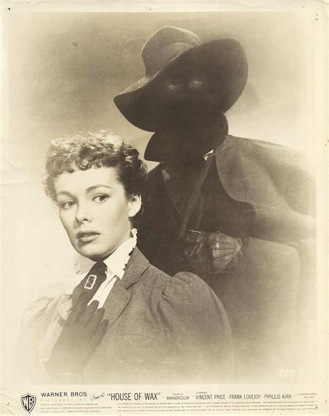 house of wax soundtrack phyllis kirk vincent price in quot house of wax quot original photo 1953 ebay