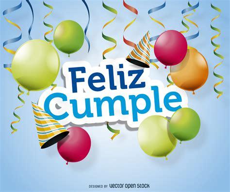 imagenes de feliz cumpleaños con caballos feliz cumple el dise 241 o del cartel descargar vector