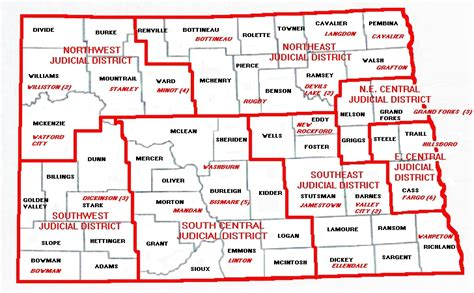 Nd Courts Records Dakota District Courts
