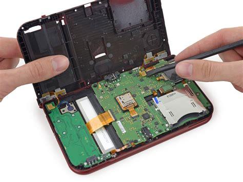 layout xl connectivity nintendo 3ds xl 2015 teardown inside the tiny computer