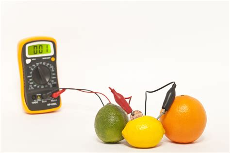 fruit electricity how to make a fruit battery