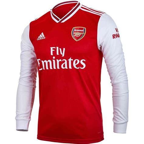 adidas arsenal home ls jersey soccerpro