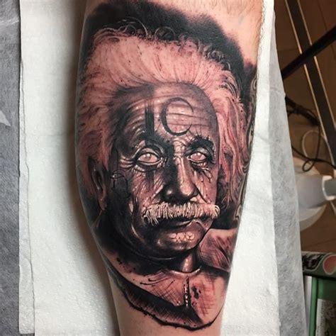 albert einstein tattoo the trash realism of anrijs straume tattoodo