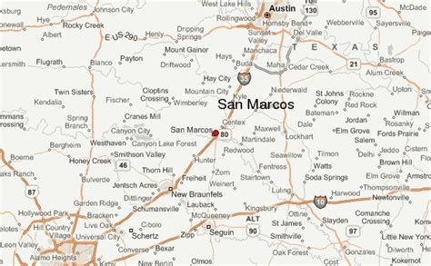 texas map san marcos san marcos texas location guide