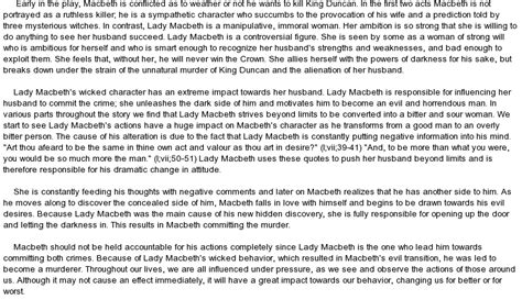 honours thesis abstract literary analysis essay lady macbeth docoments ojazlink