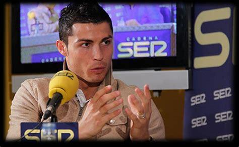 ronaldo biography in spanish cristiano ronaldo full interview in spanish to cadena ser