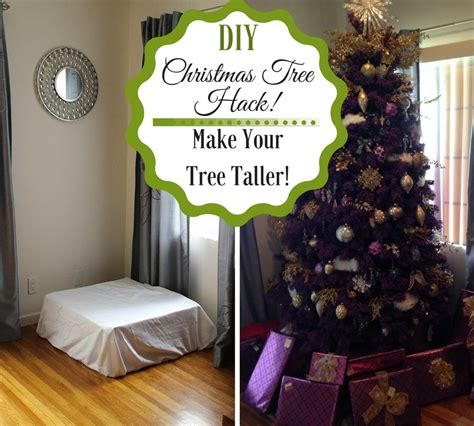 diy tree hack make your tree taller savvy
