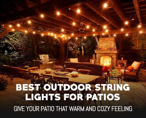gazebo string lights best outdoor string lights for patios and gazebos