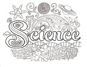 Science Coloring Pages For science lab coloring pages coloring home