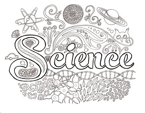 Science Coloring Pages Pdf | science lab coloring pages coloring home