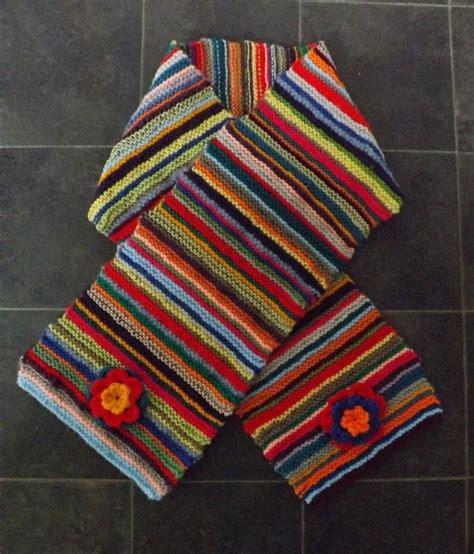how to knit a striped scarf multi stripe scarf 183 how to knit or crochet a stripy scarf