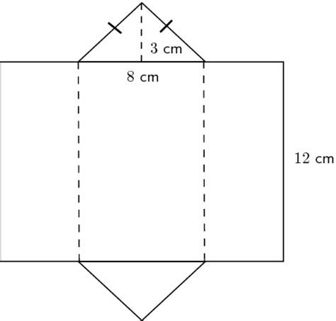 printable surface area nets best photos of net triangular prism with dimensions