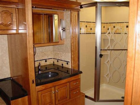 rv with bathroom hit the road in style with hgtv rv hgtv