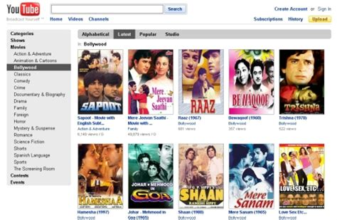 yahoo free movies on youtube video update dailymotion yahoo youtube bollywood