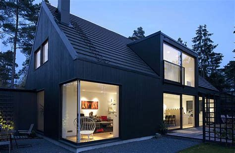 modern scandinavian house plans swedish combination of traditional elements and modern design lima house freshome com