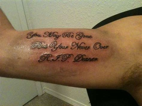 rest in peace quotes tattoos quotesgram