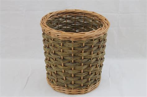 waste paper baskets wp03 waste paper basket wicker baskets