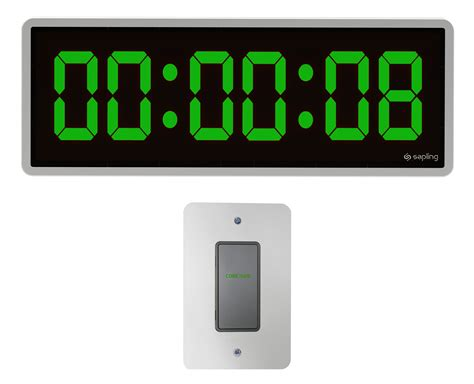 wall clock digital wall mount digital clock timer