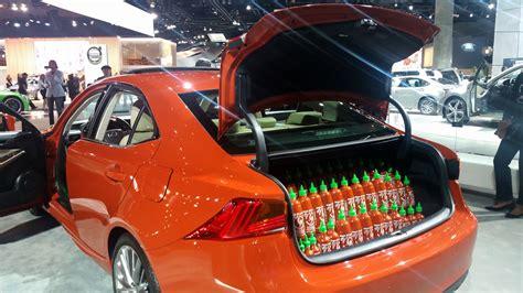 sriracha car lexus has the car of the l a auto the