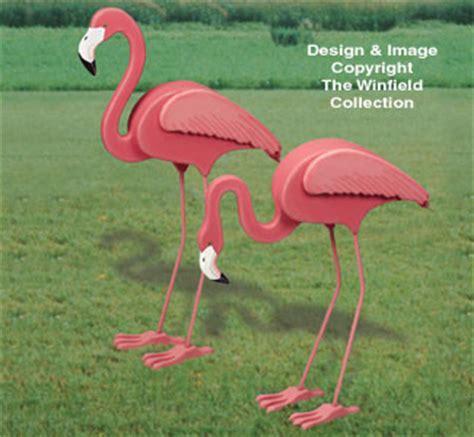 animal project patterns  life size flamingos