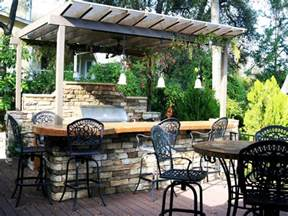 Ideas For Outdoor Kitchens Cheap Outdoor Kitchen Ideas Hgtv