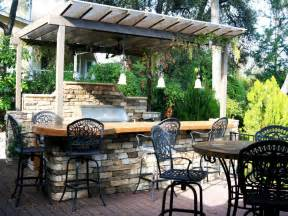 outside kitchen ideas cheap outdoor kitchen ideas hgtv
