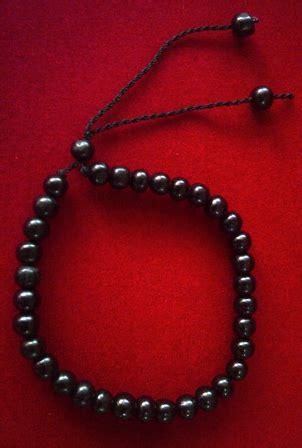 Gelang Seperti Tasbih gelang kaukah tasbih 33 hitam 02 islamic gifts