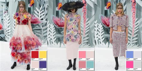 Color Of The Year Benjamin Moore Chanel Spring 2015 Couture Collection Color Codes