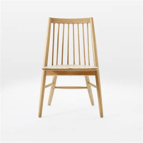 spindle dining chairs scissor spindle dining chair west elm