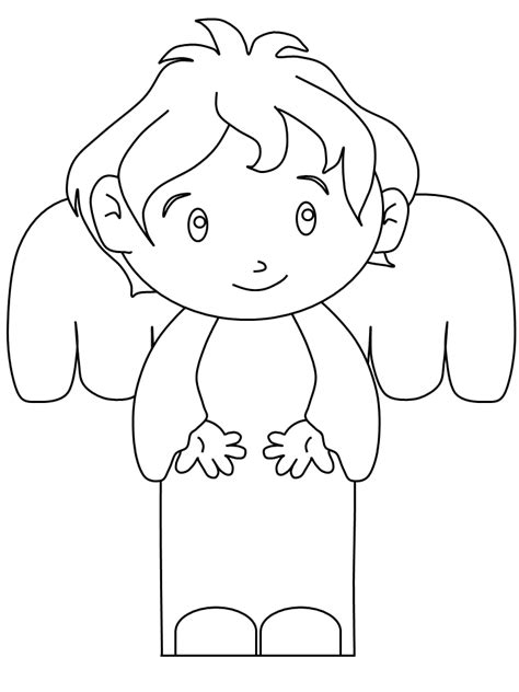 imagenes angeles navideños para colorear angeles para colorear pintar e imprimir