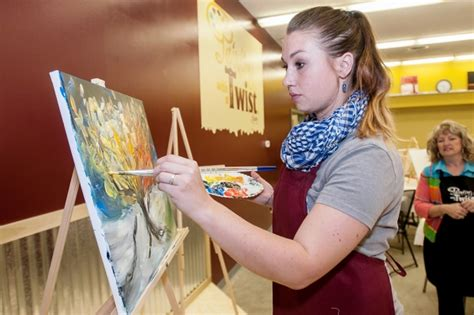 paint with a twist lansing painting with a twist brings wine to lansing the