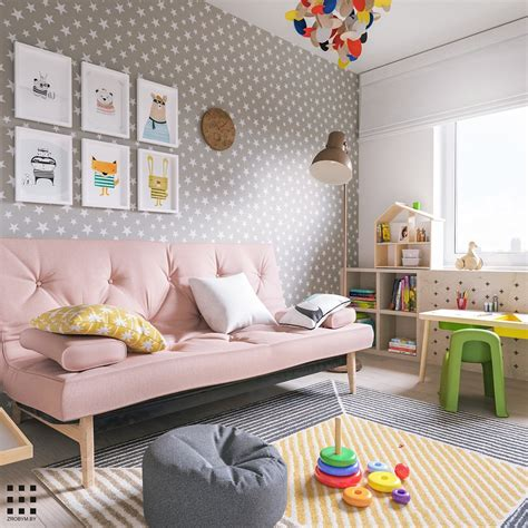 scandinavian style apartment perfect   small family