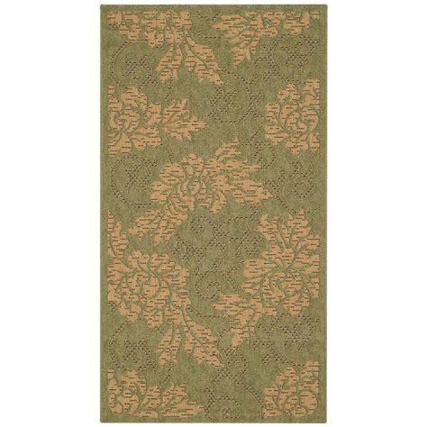 2 x 5 area rugs safavieh courtyard green 2 ft 7 in x 5 ft indoor outdoor area rug cy6957 44 3 the