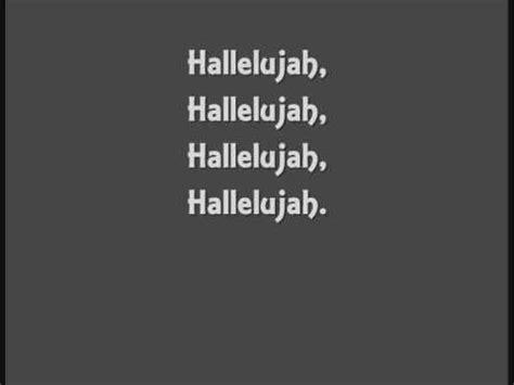 full version hallelujah lyrics john cale hallelujah lyrics youtube