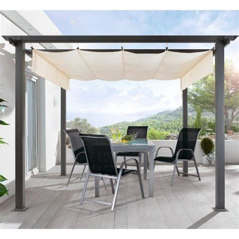 pavillon faltdach terrassen pavillon pergola aluminiumgestell polyester dach
