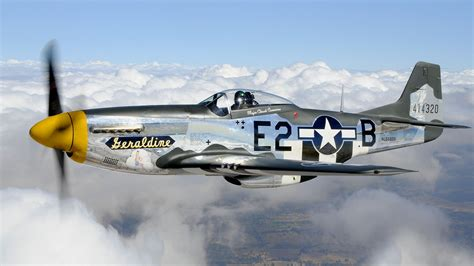 aircraft warbird p 51 mustang wallpaper 1920x1080