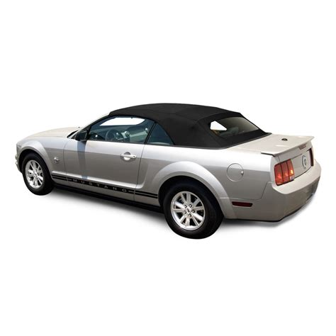 ford mustang convertible top  window black