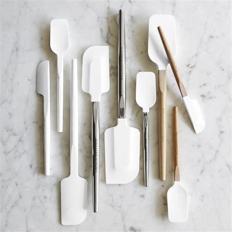 Spatula Mini Lurus Stainless williams sonoma silicone mini spatula spoonula with stainless steel handle williams sonoma