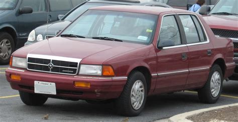 1992 dodge spirit dodge spirit wikipedia
