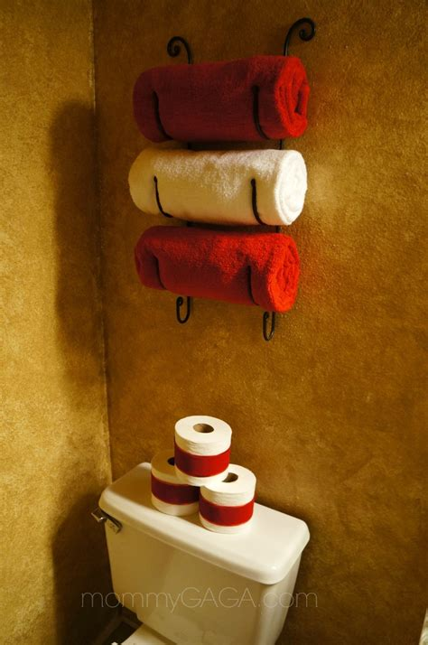 red and black bathroom decor bathroom pinterest holiday home decor christmas decorating ideas for the