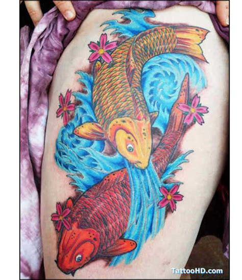 116 nice fish koi tattoos images with meaning