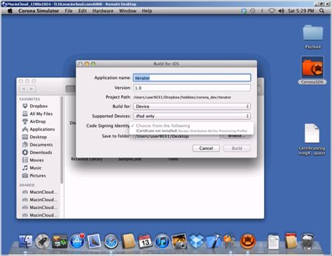 xcode keychain tutorial xcode cannot build corona sdk project code signing