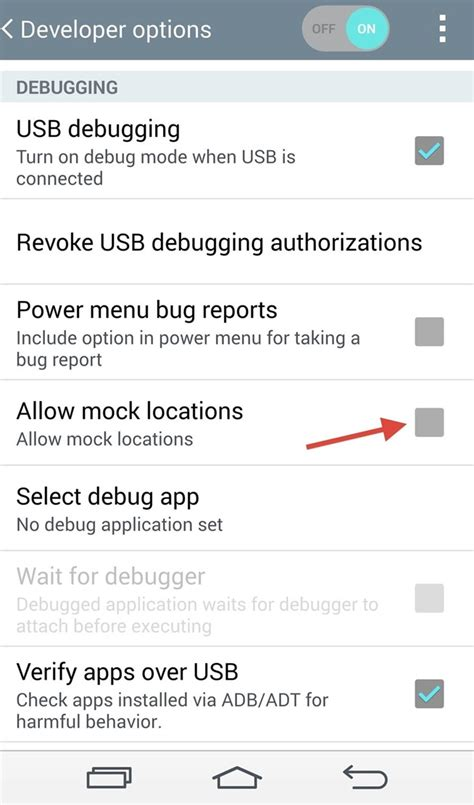 android allow mock locations your gps location on android to trick apps targeted ads 171 lg g3
