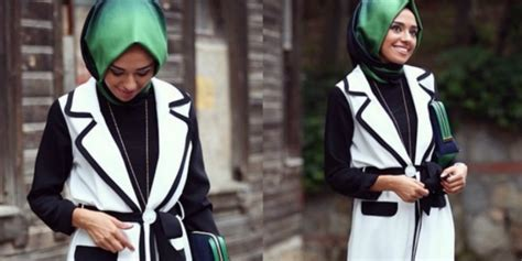 tren pakaian simpel modern rompil hijaber hijab style tengok busana simpel yang bikin keren dream