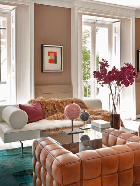 Salmon Colored Curtains Designs Living Room Inspiration Sophisticate Erika Brechtel