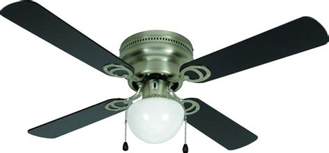 42 Inch Black Ceiling Fan With Light Hardware House 543611 Aegean Flush Mount 42 Inch Ceiling Fan With Optional Light Fixture Satin