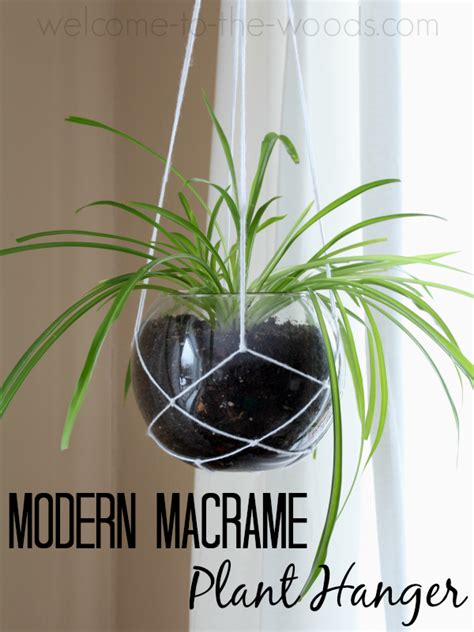 Learn To Macrame - decor modern macrame plant hanger welcome to the